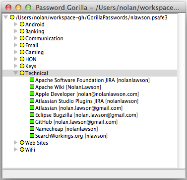 My password file.