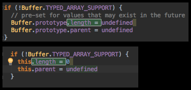 wrapping the offending code in an if () check